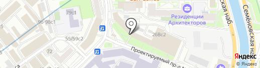 Промсорс, ГК на карте Москвы