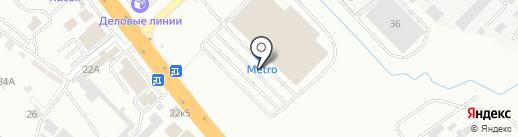 Амарант на карте Новороссийска