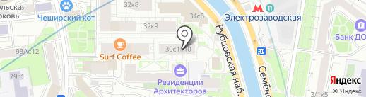 Сайнгудс на карте Москвы