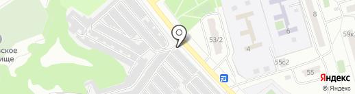 Русич Авто на карте Москвы