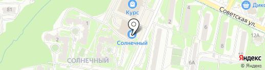 Золотой Век на карте Видного