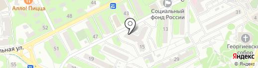 Магазин матрасов на карте Видного
