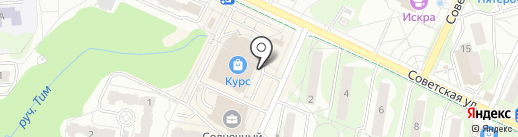 Лайт тур на карте Видного