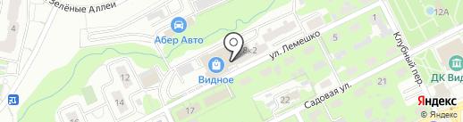 Платежный терминал, МОСКОВСКИЙ КРЕДИТНЫЙ БАНК на карте Видного