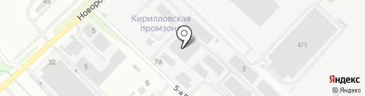 МоёДитё на карте Новороссийска