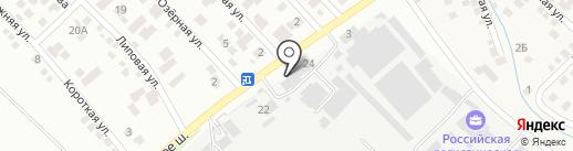 ЛЕСКРАФТ на карте Новороссийска