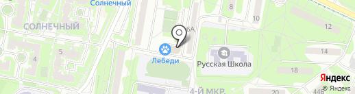 Аура на карте Видного