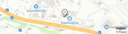 Магазин хозтоваров на карте Новороссийска