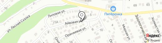 Системы безопасности на карте Новороссийска