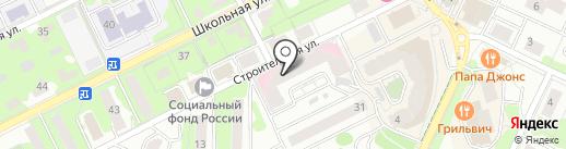 Марис на карте Видного