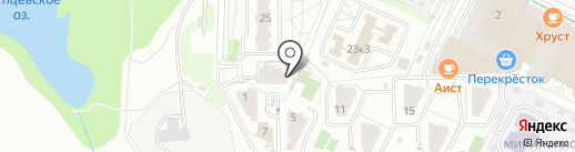 Видстром на карте Видного