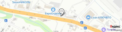 Магазин автозапчастей для ВАЗ на карте Новороссийска