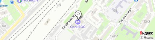 ПроТЭК на карте Москвы