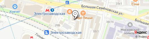 С и НАС-2000 на карте Москвы