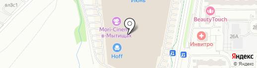 Мир сухофруктов на карте Мытищ