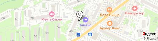 Диана на карте Видного