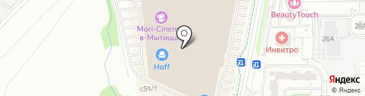 Суши-маркет на карте Мытищ