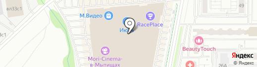 Лалинна на карте Мытищ