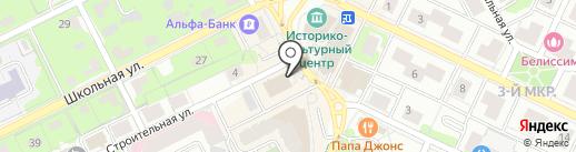 Бетонная Система на карте Видного