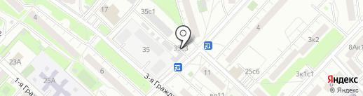 Магазин автоаксессуаров на карте Москвы