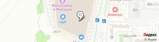 Pay.Travel на карте Мытищ