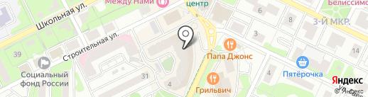 Якитория на карте Видного
