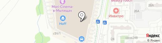 Капризуля на карте Мытищ