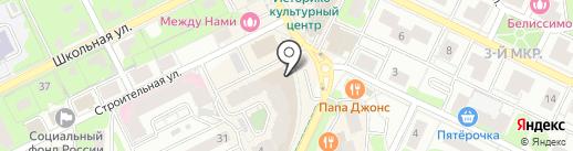 Лабиринт на карте Видного