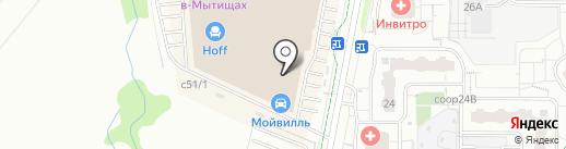 EPG на карте Мытищ