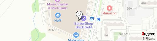 Банкомат, Альфа-банк на карте Мытищ