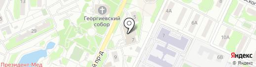 Стиль вкус качество на карте Видного