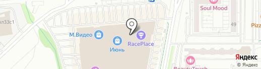 Чайхона №1 на карте Мытищ