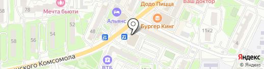 Овощной магазин на карте Видного