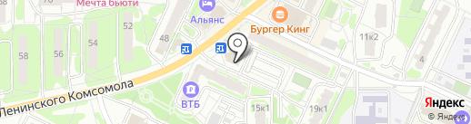 Вусал на карте Видного
