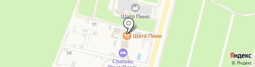 Усадьба Мысхако на карте Новороссийска