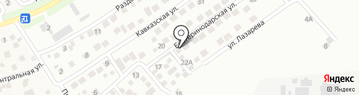 Avtocar на карте Новороссийска