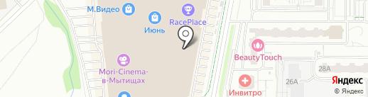Convershop на карте Мытищ