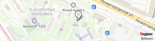 Межрегиональная Энергосберегающая Компания на карте Москвы
