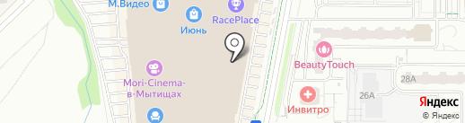 United Colors of Benetton на карте Мытищ