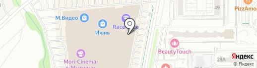 Stradivarius на карте Мытищ