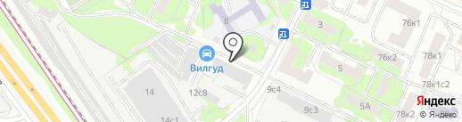 Тренд-Авто на карте Москвы