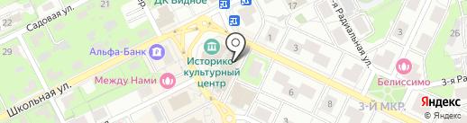 Лорес на карте Видного