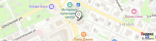 Видное местечко на карте Видного