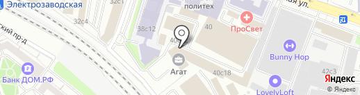 WoodTec на карте Москвы