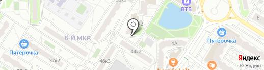 Дошколенок на карте Мытищ