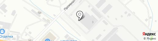 КУЗБАССУГОЛЬ на карте Новороссийска