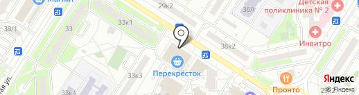 Суперо на карте Мытищ