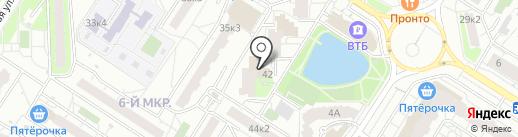 Азбука на карте Мытищ