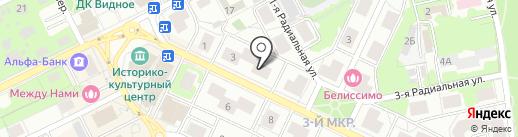 Палата ремесел на карте Видного