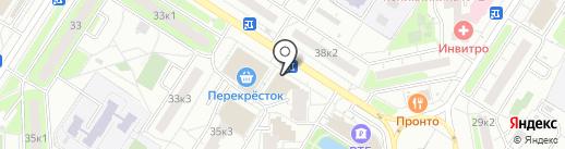 Магазин одежды и обуви на карте Мытищ